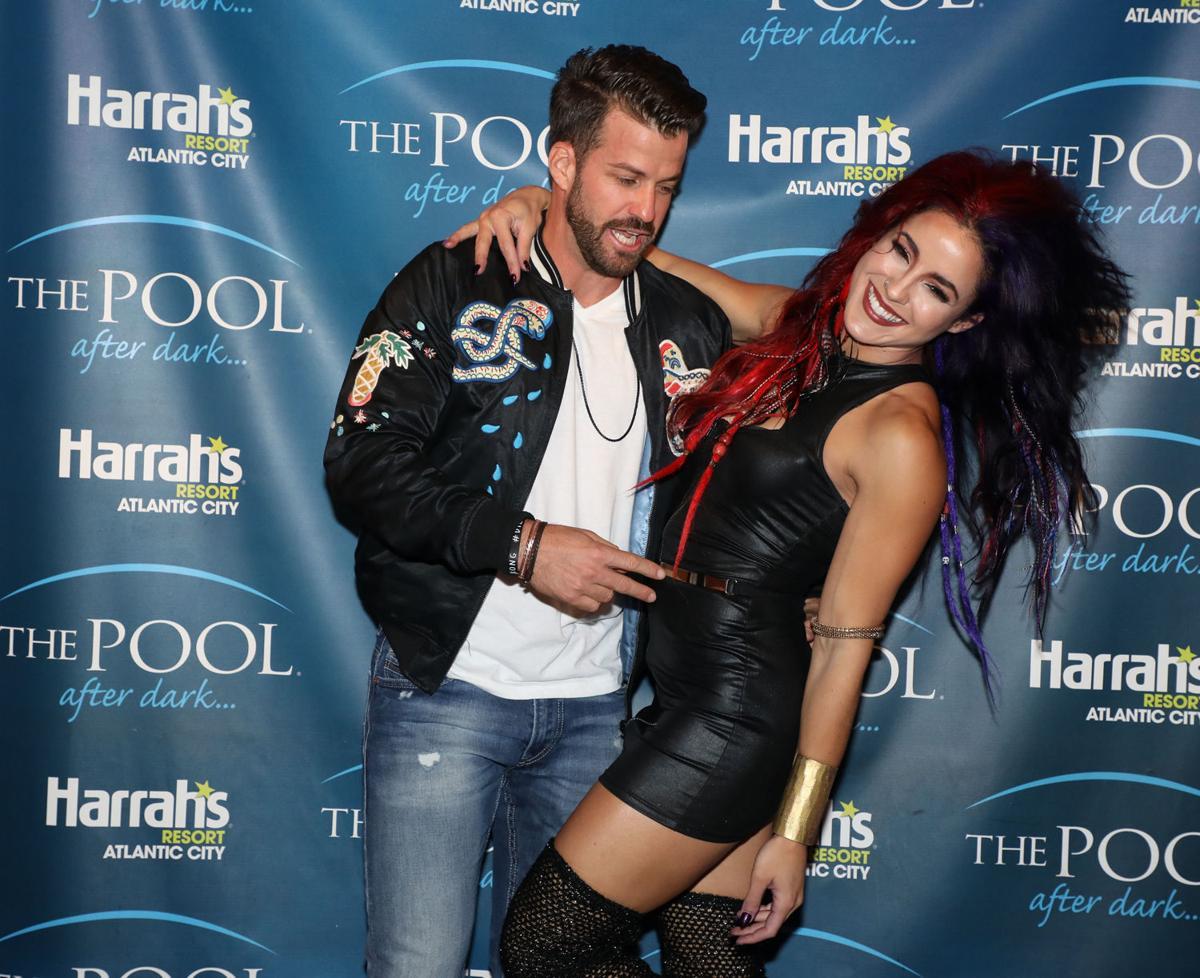 Johnny Bananas and Cara Maria 'Challenge' The Pool After Dark ...