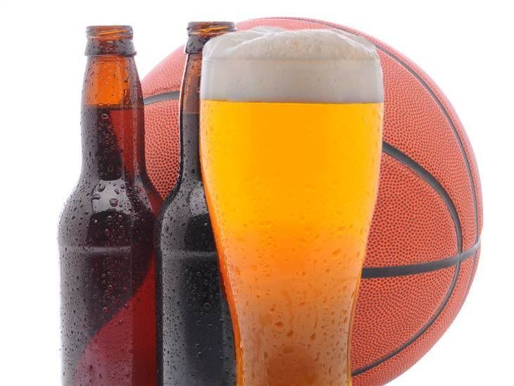beers and basketball