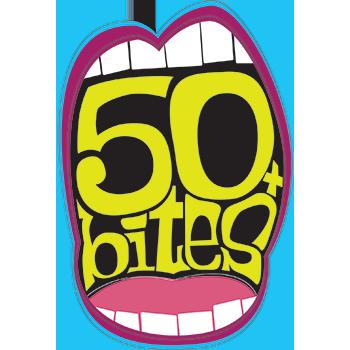50 Bites+ Logo - 2021