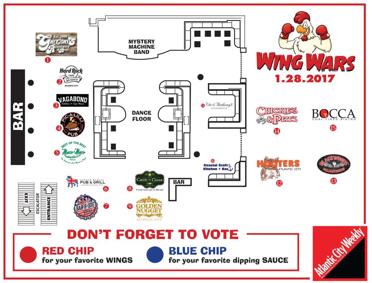 The Inaugural Wing Wars Lands At Golden Nugget Wing Wars