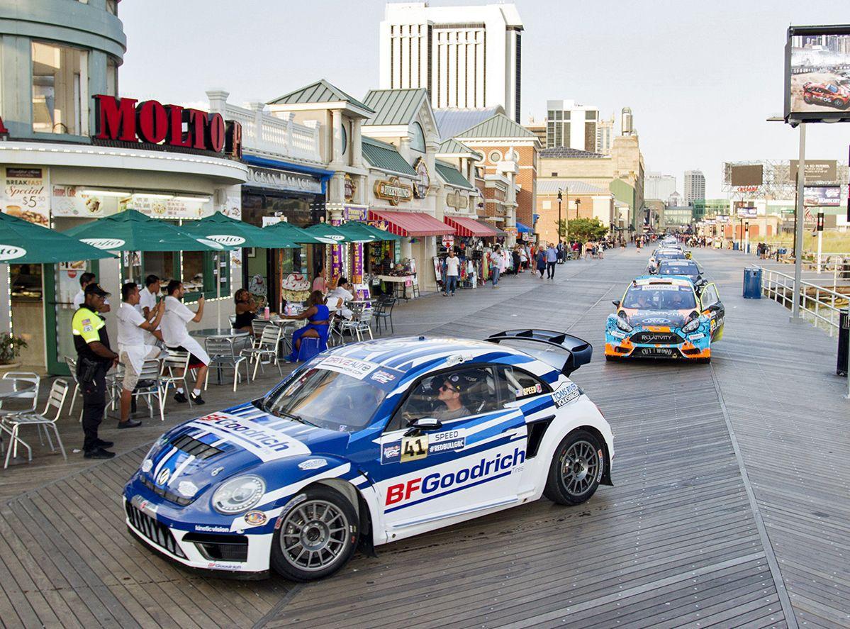Red Bull GRC auto racing