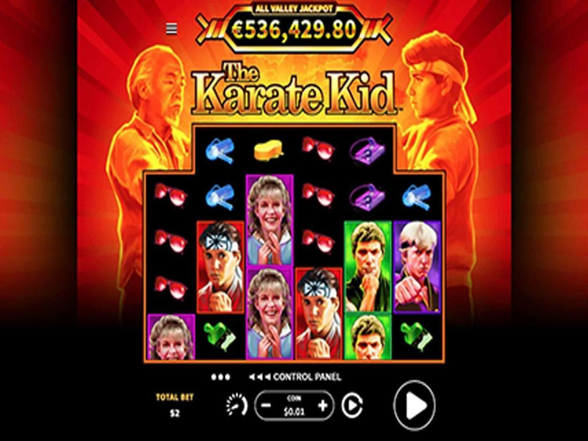 karate kid slot machine