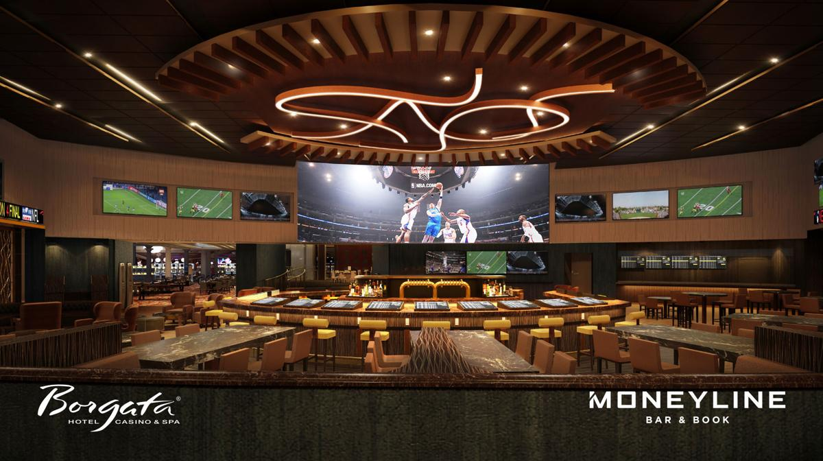Sportsbook and bar