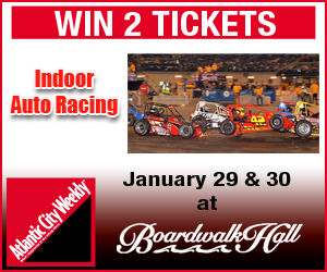Win 2 tickets to see Indoor Auto Racing at Boardwalk Hall