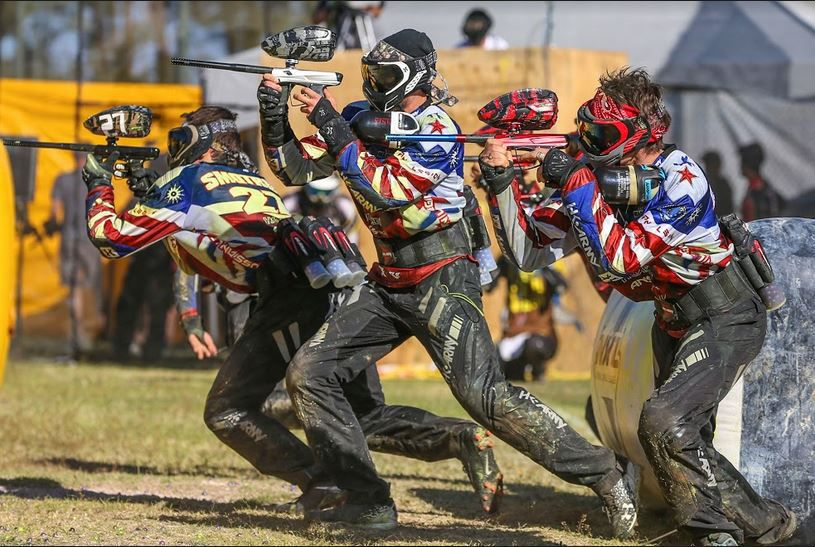nxl paintball league brings players from around the world to
