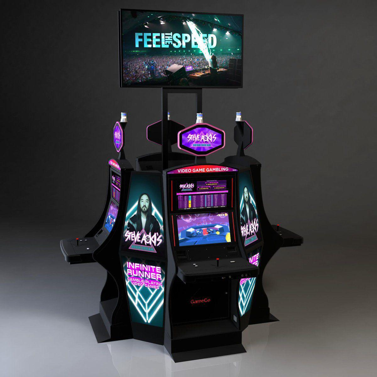 "True Legend 35 Trophies Gorashfordutd Liverpool Legend: ""Steve Aoki's Neon Dream"" Slot Machine Hits Borgata Casino"
