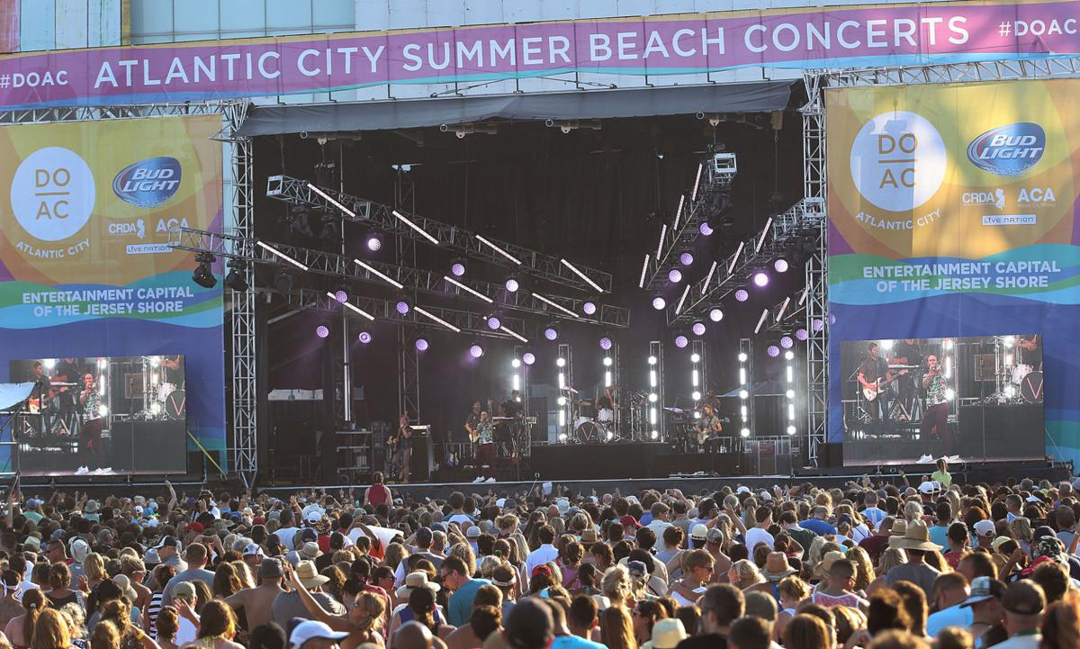 Maroon 5 A C Beach Concert Photo Gallery Featured Atlanticcityweekly