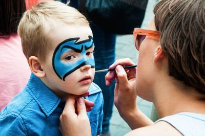 Face Painting_Shutterstock