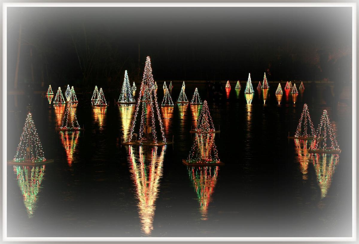 Smithville light show