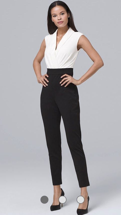 black _WhitePants suit