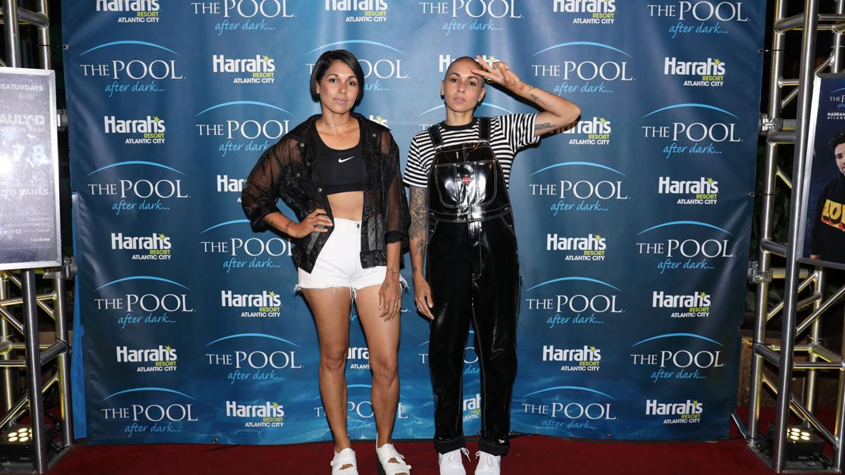Nina Sky brightens up The Pool After Dark