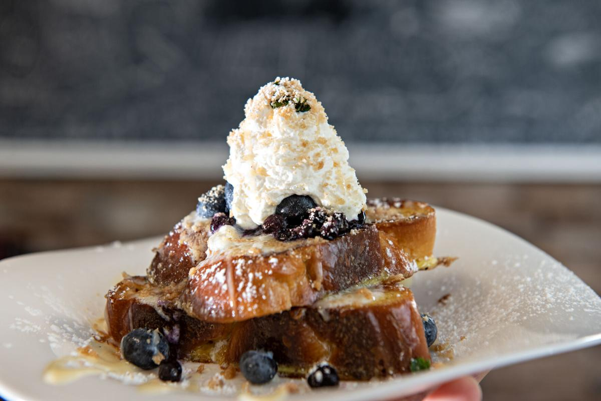 No Reservations - Blueberry French Toast - Galloway