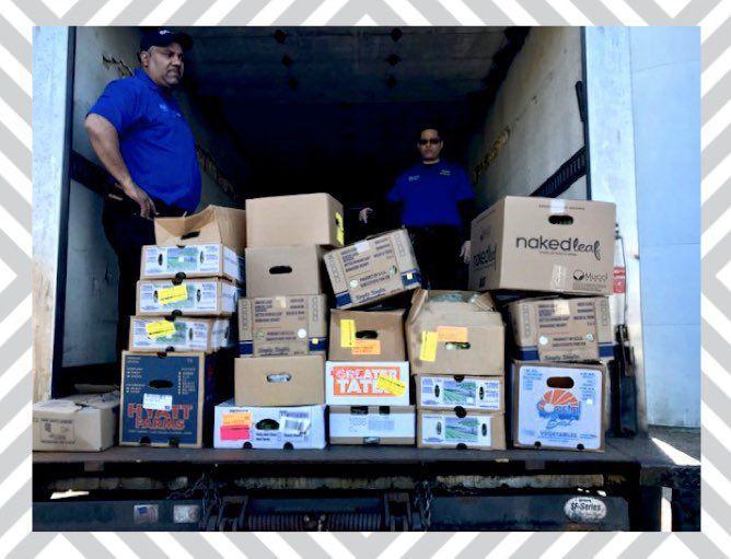 Truckload of Food