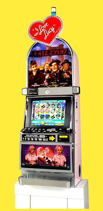 I Love Lucy Scented Slot Machine
