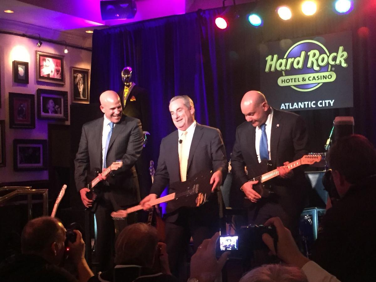 Hard Rock Press Conference