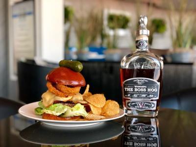 WhistlePig Bourbon Burger