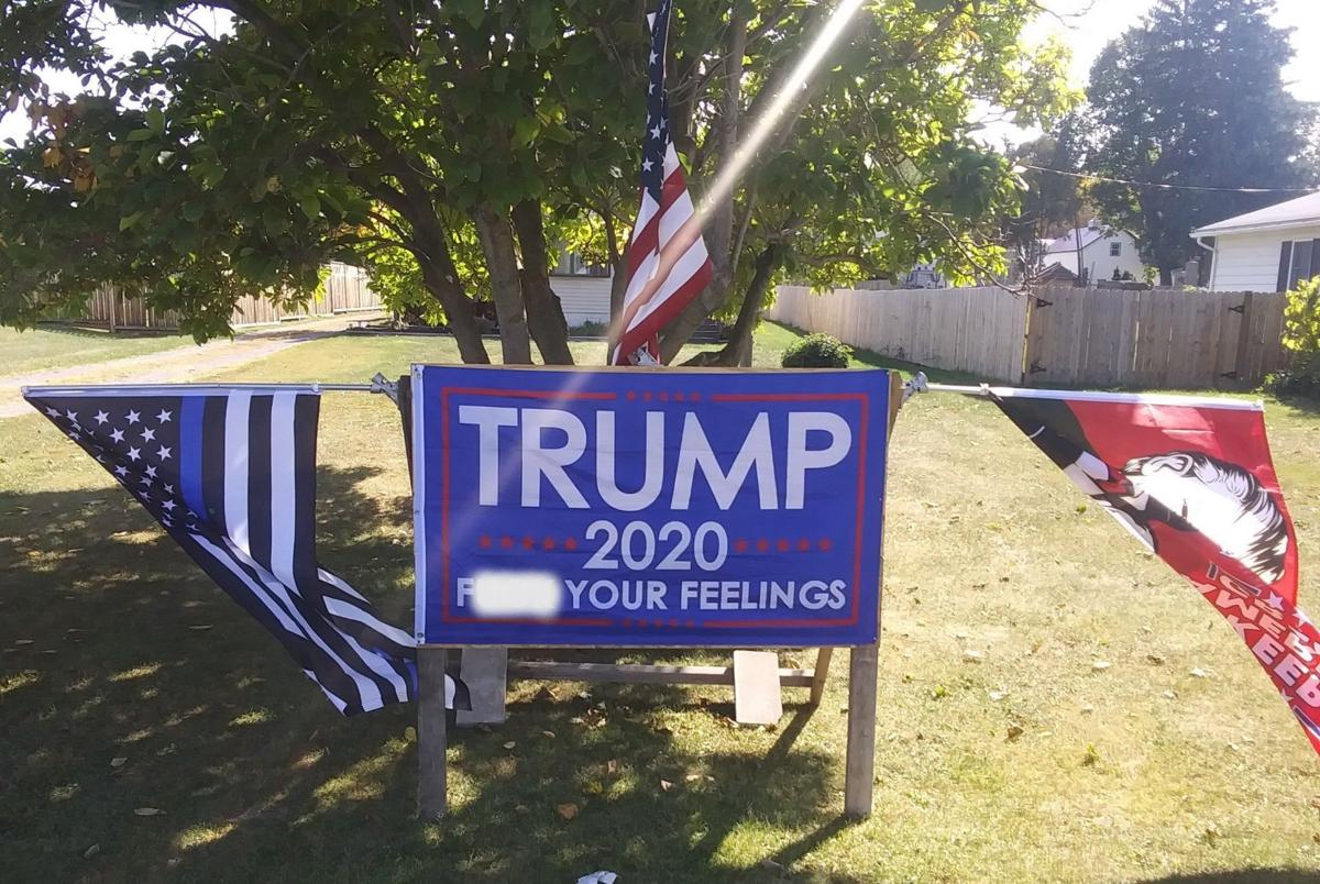 Trump flag prompts outrage in Weedsport, officials say there's little they can do
