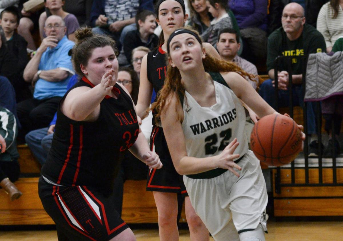 Weedsport girls basketball vs. Tully