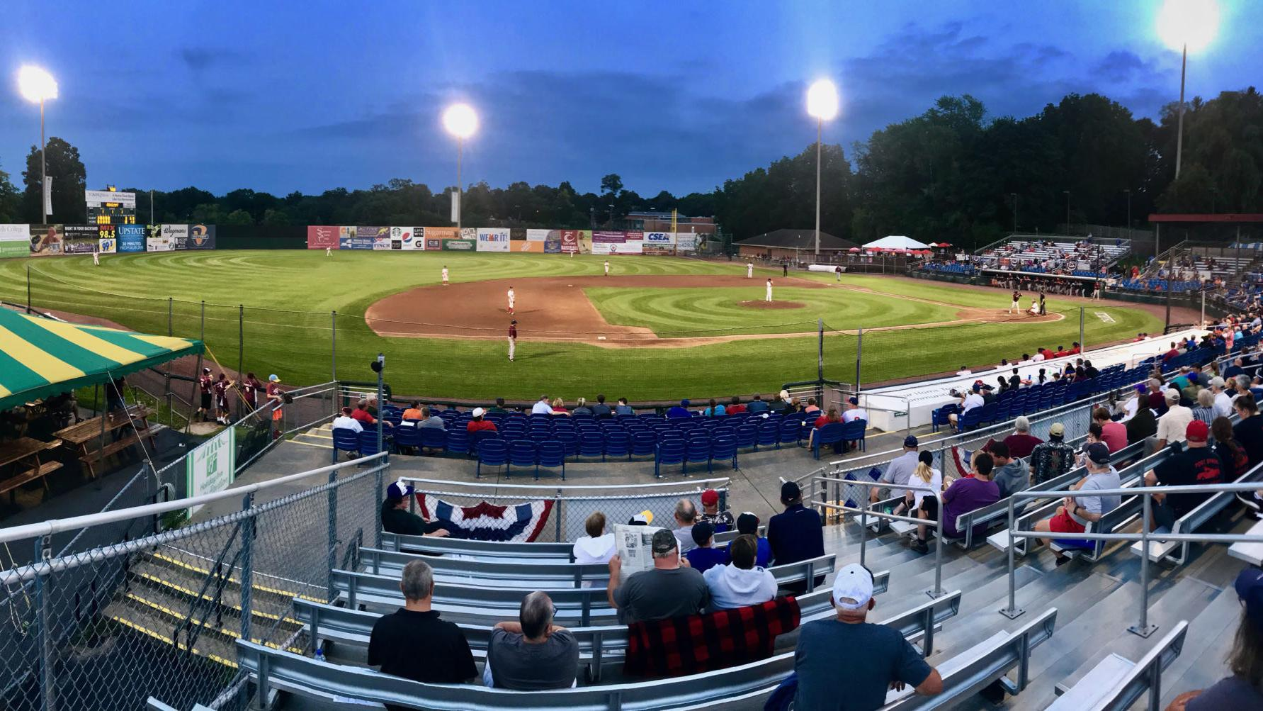 Cayuga Community College baseball hits new Falcon Park turf