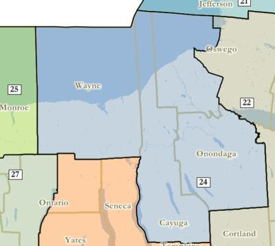Judge\'s map keeps all of Cayuga County in single district | Local ...
