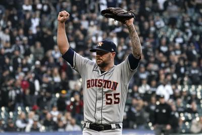APTOPIX ALDS Astros White Sox Baseball