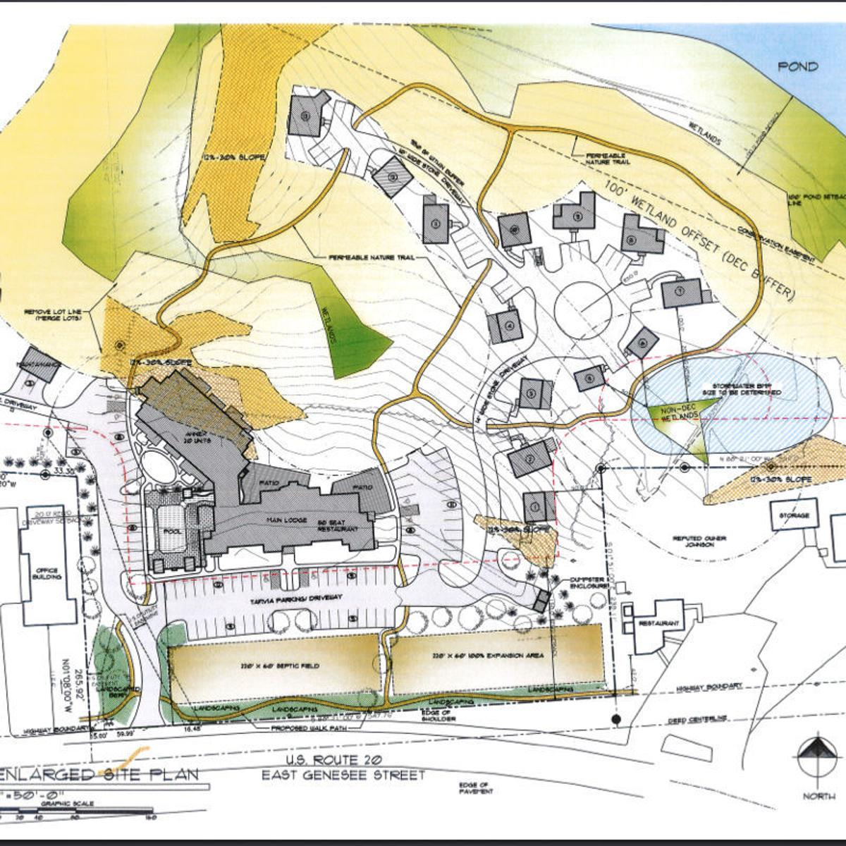 Skaneateles Town Planning Board approves sketch plan for