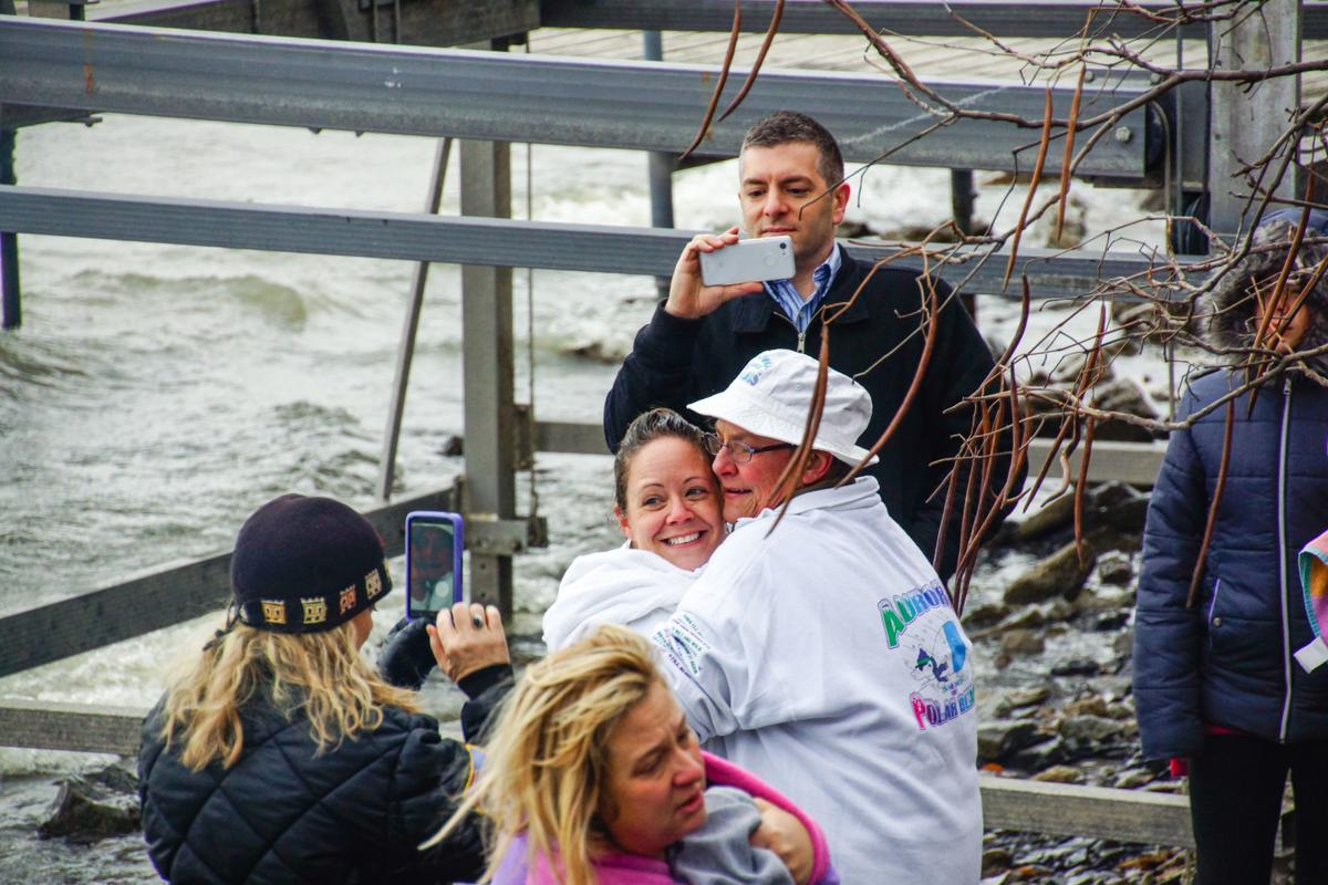 Aurora Polar Bears host 29th New Year's Day polar plunge