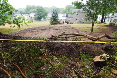 Auburn yard near Fort Hill Cemetery was once burial ground for