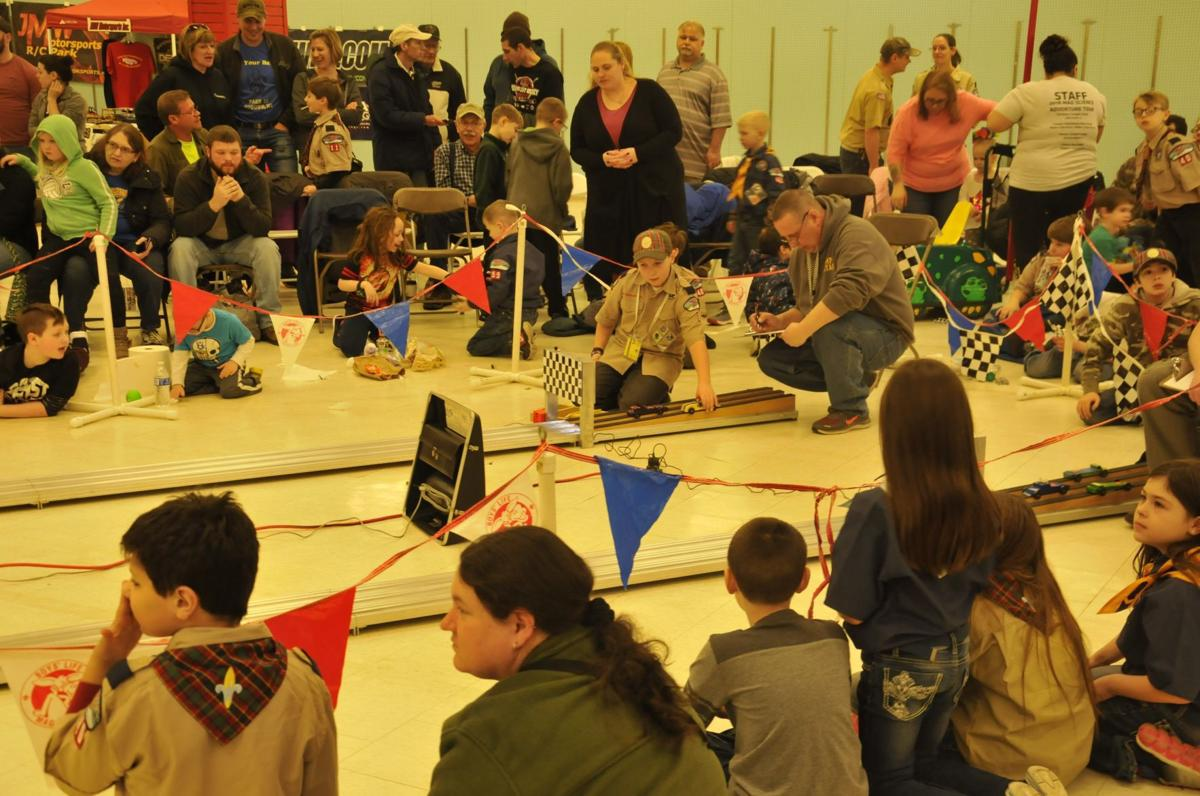 Cub Scouts race for fun and prizes at Cayuga County Pinewood