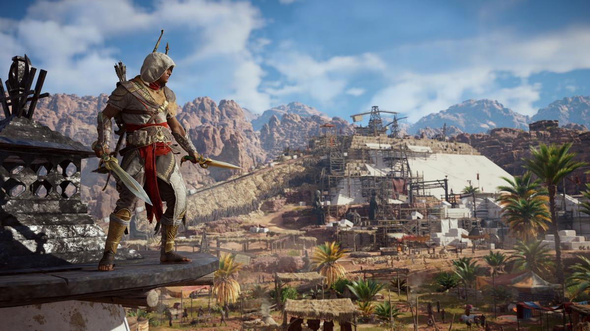 Assassin S Creed Origins Ps4 Review Stalk Like An Egyptian