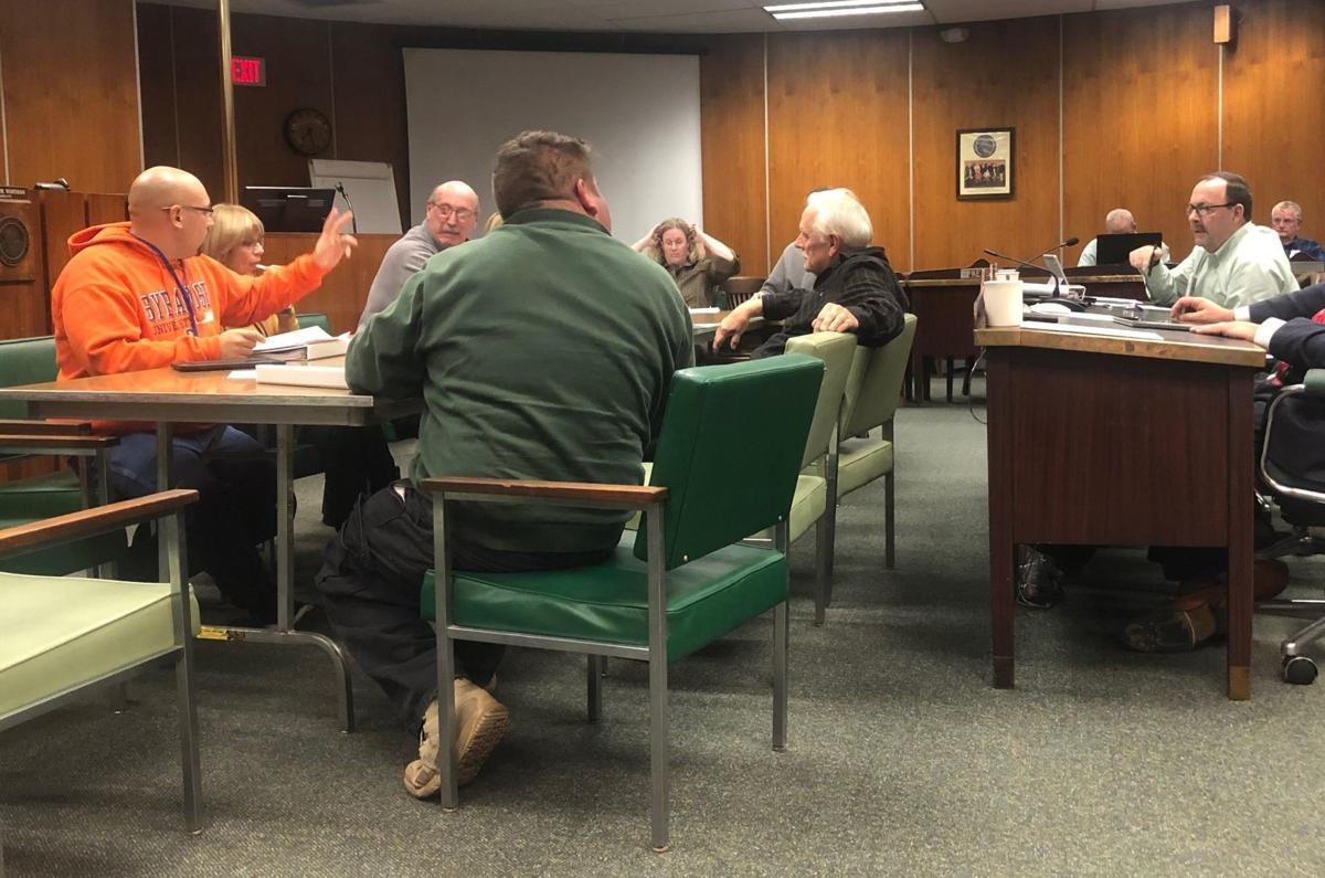 Ways and Means Committee budget meeting