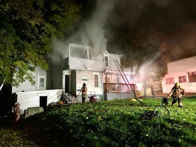 Crews battle blaze in Auburn