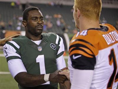 3639a2117 Michael Vick returns to Philadelphia as backup with the New York ...