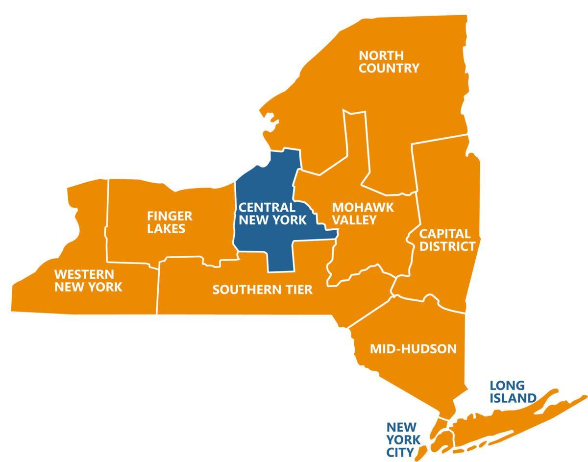 NY REDC map