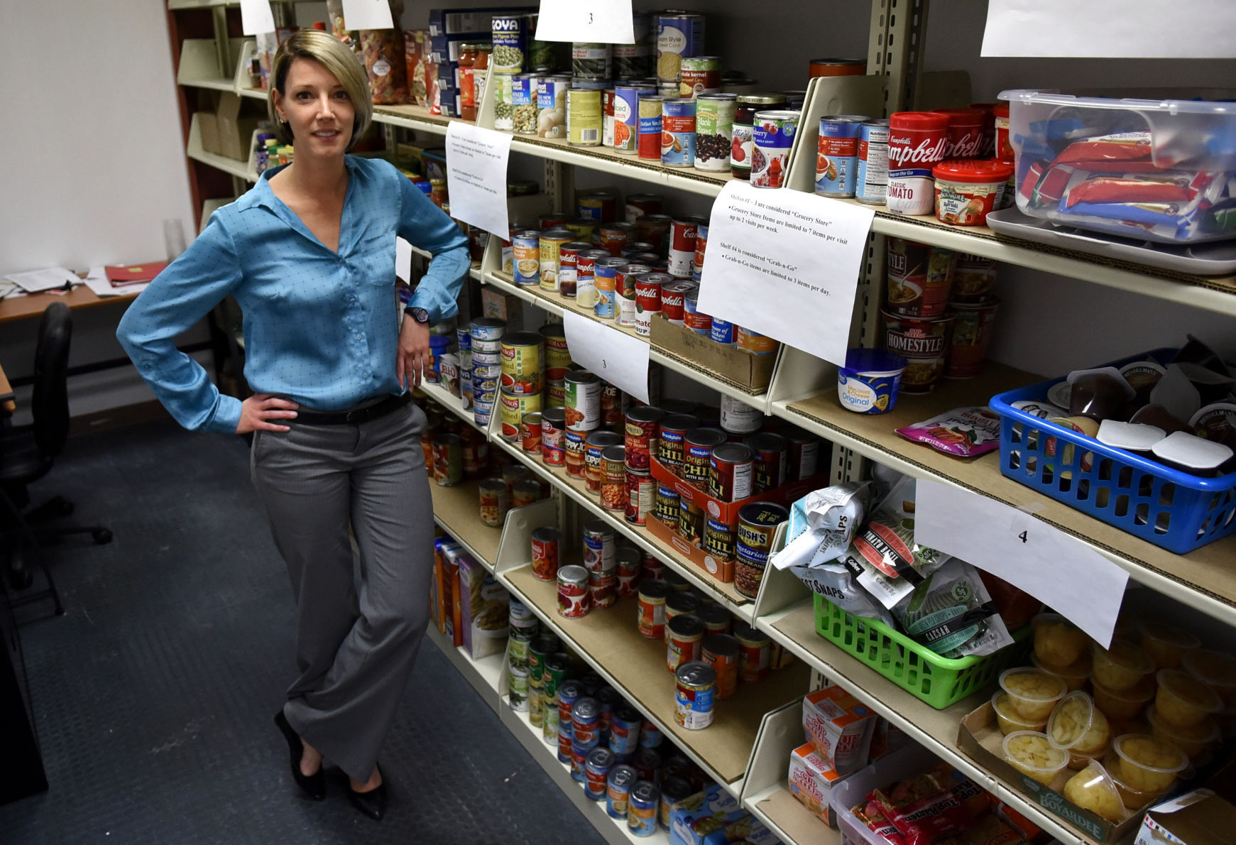 How NY public colleges are using campus food pantries to fight