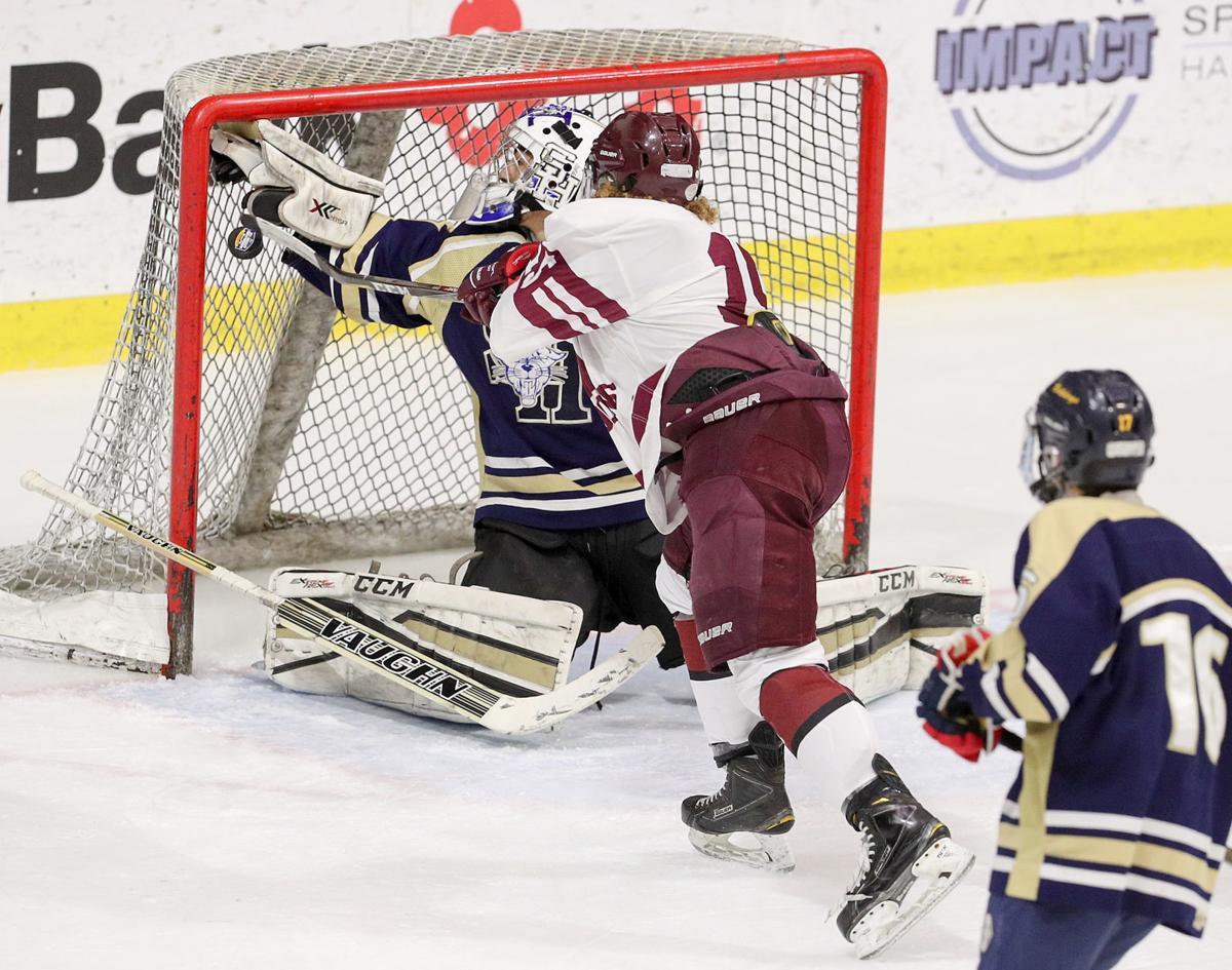 Auburn hockey vs Sweet Home