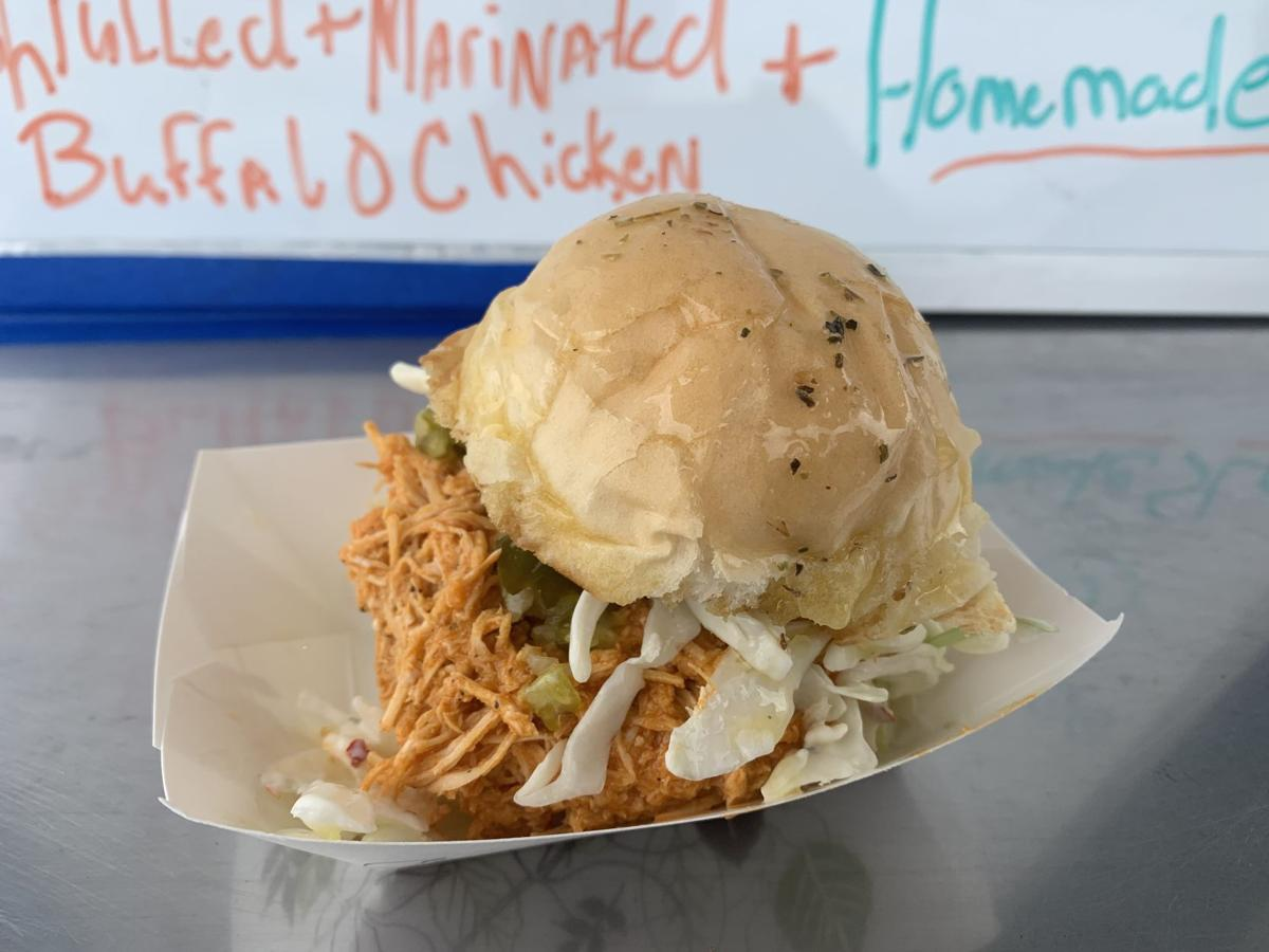 NYS Fair 2019 Food Truck Competition: Buffalo Chicken Slider