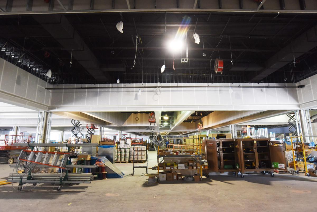 Inside del lago construction at seneca county casino for Auburnpub