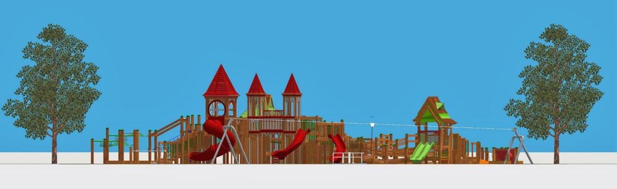 Casey Park Playground rendering 2