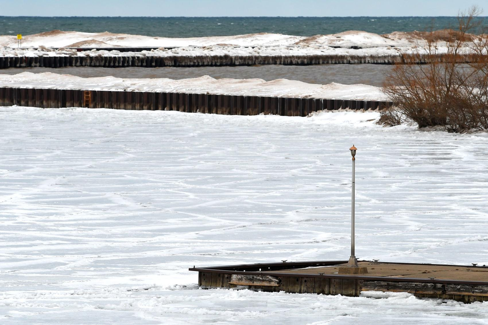 Army Corps of Engineers assesses Fair Haven pier damage, plans repairs