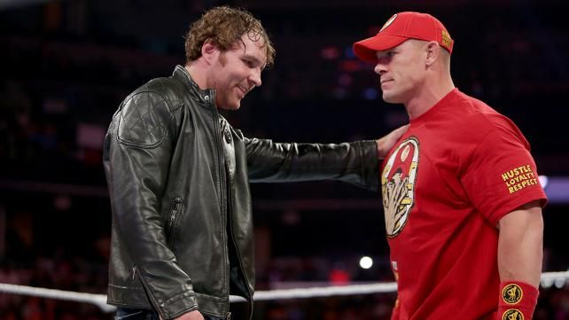 Dean Ambrose And John Cena Argue Over Who Gets The Next Shot At Seth Rollins On WWE Raw