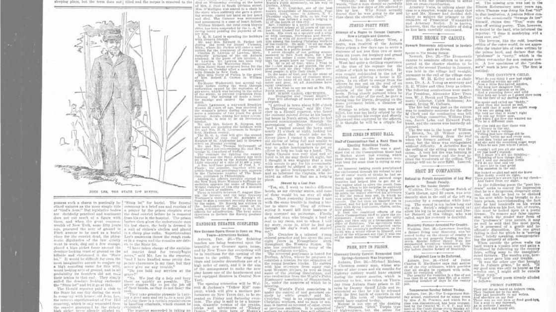 The Sunday Herald: Syracuse, Sunday Morning Dec. 27, 1896