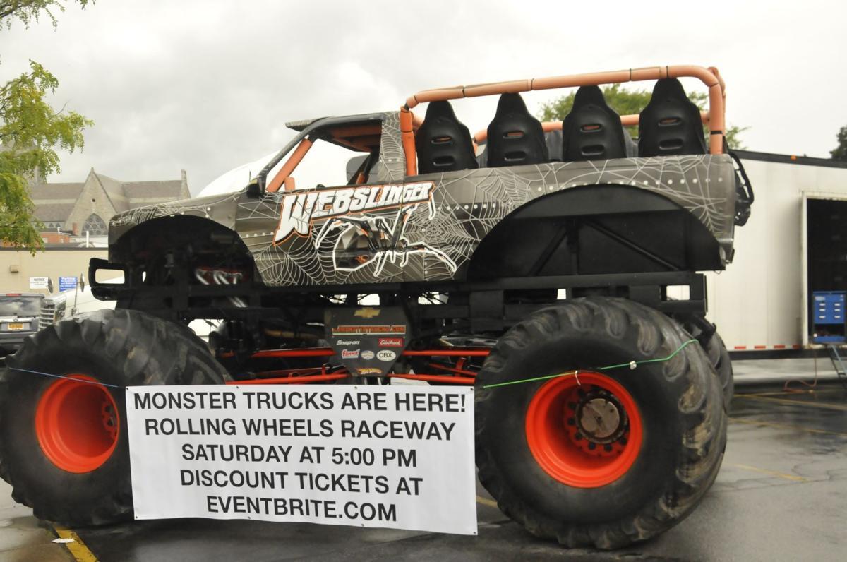 Webslinger monster truck buy now