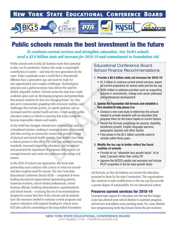 Educational Conference Board School Finance Paper