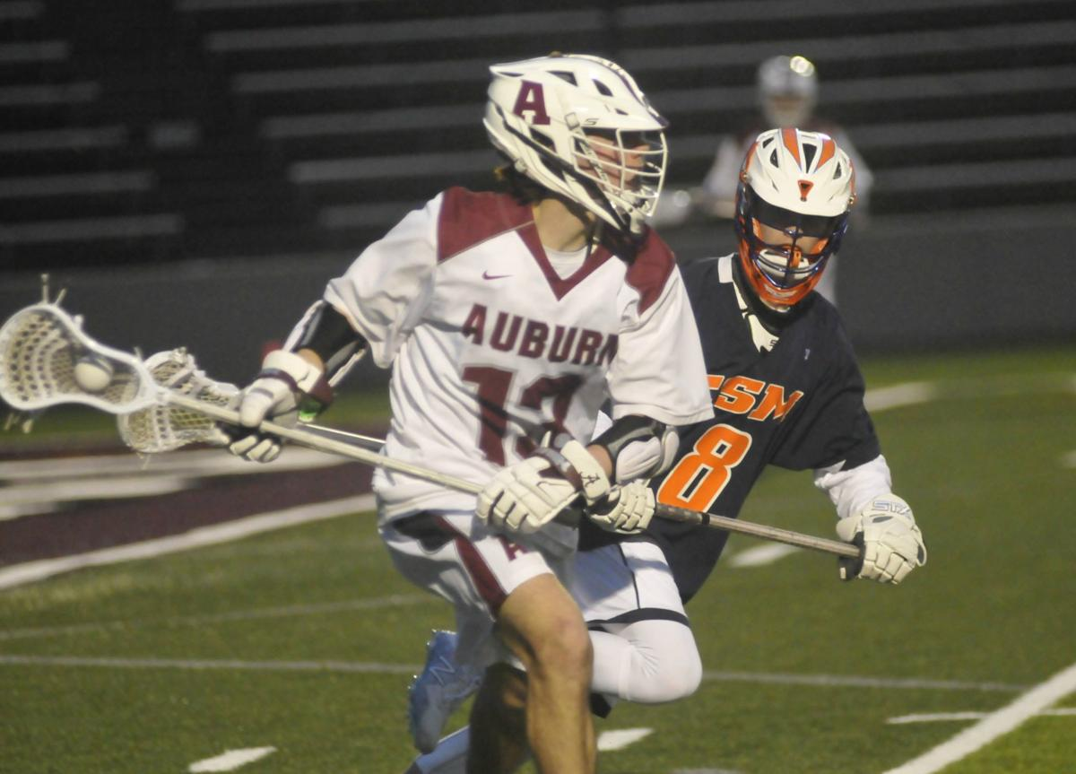 Auburn boys lacrosse vs ESM