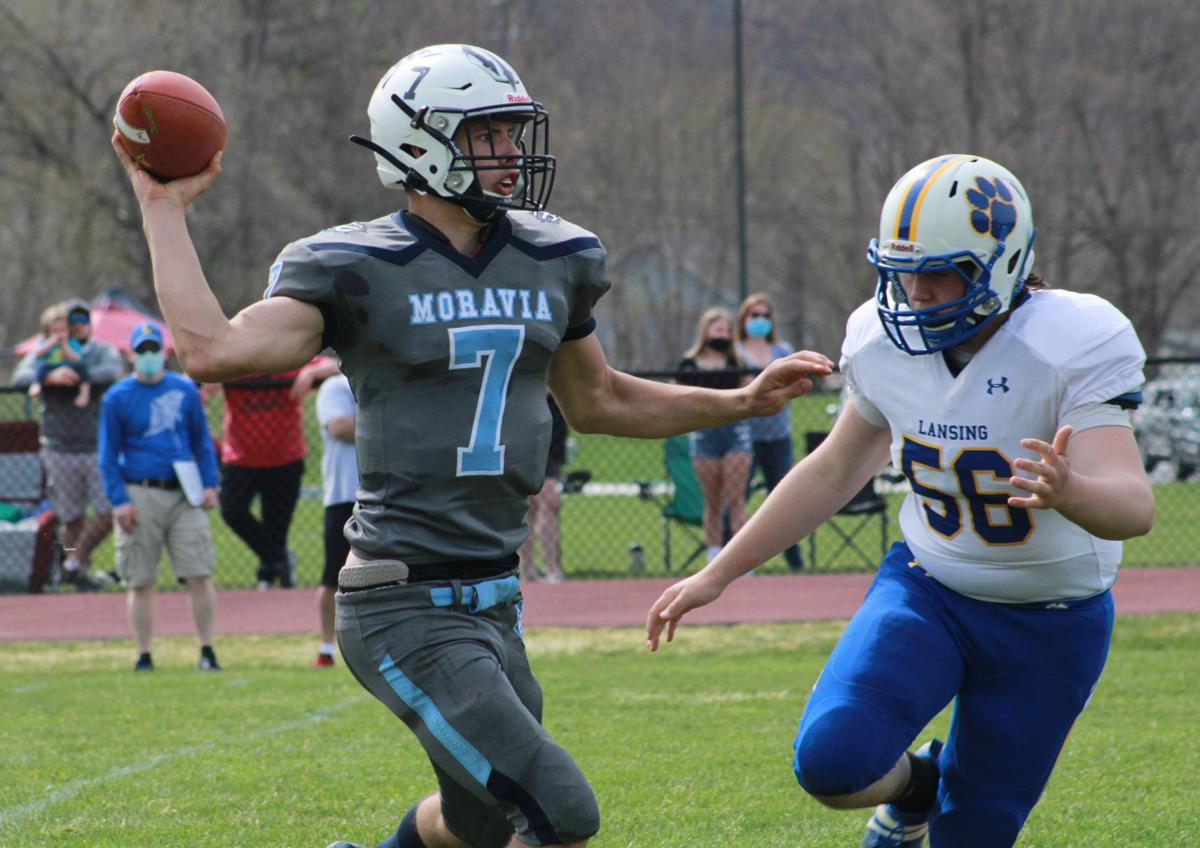 Football: Moravia vs. Lansing - 9