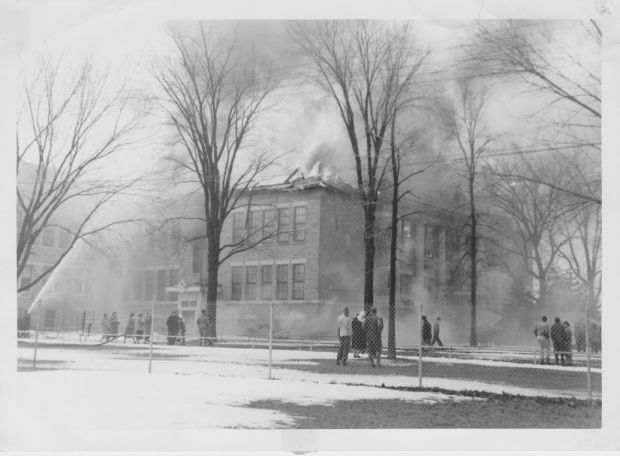 'Lost a lot': Skaneateles High School alumnus recalls 1952 fire that destroyed building