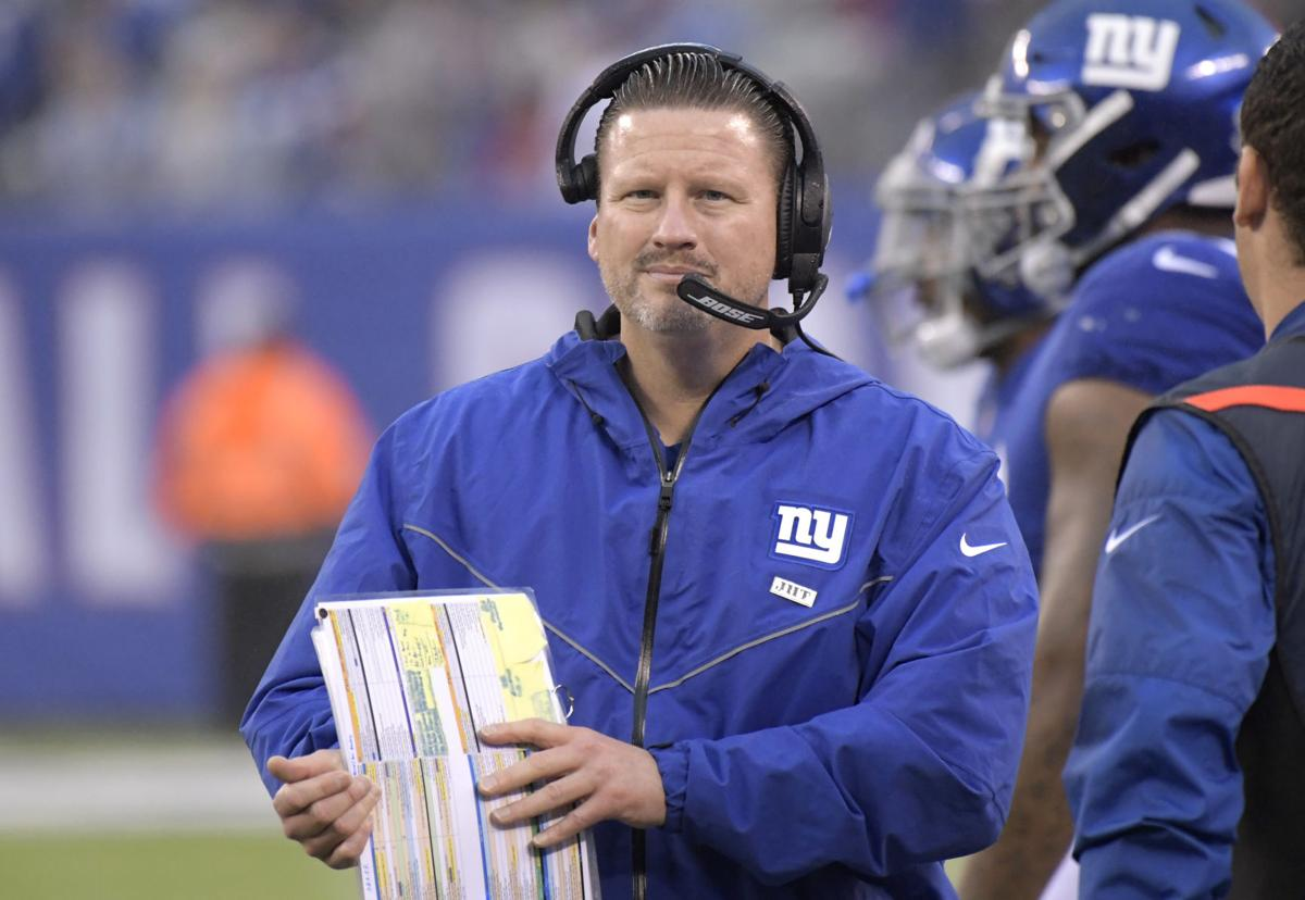 Giants Positive McAdoo Football