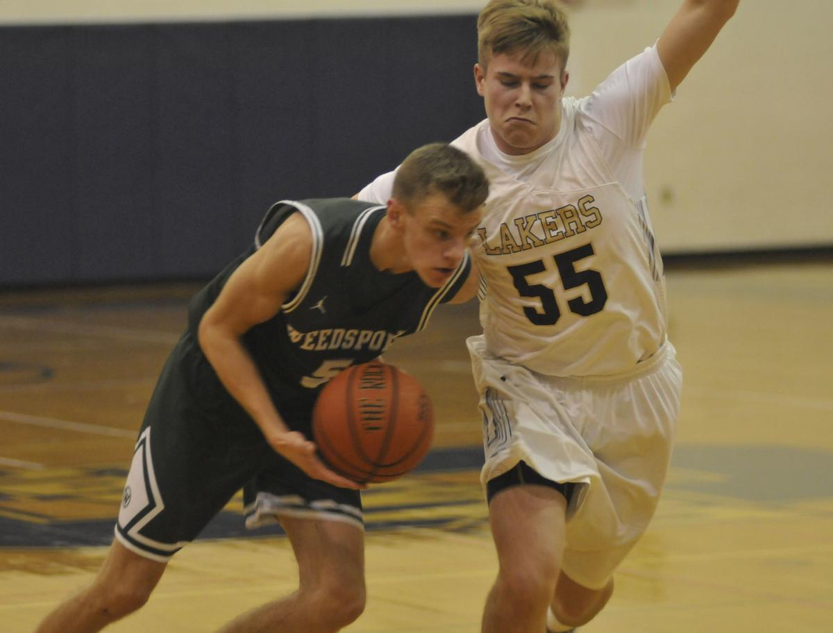Skaneateles vs. Weedsport boys basketball