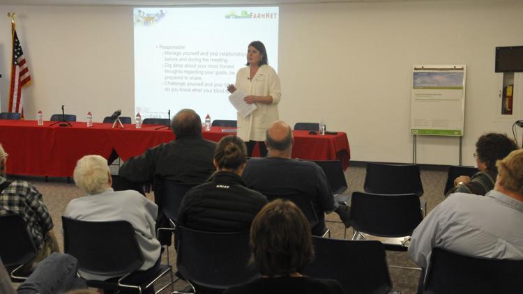 Farm succession fair in Auburn tackles communication